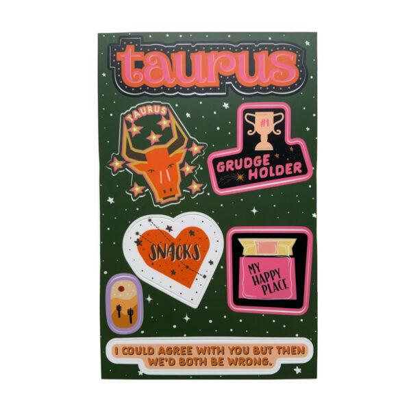 Astrologie Sticker Sternzeichen Stier